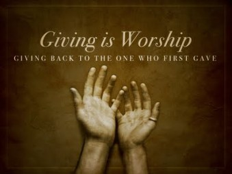 giving+is+worship
